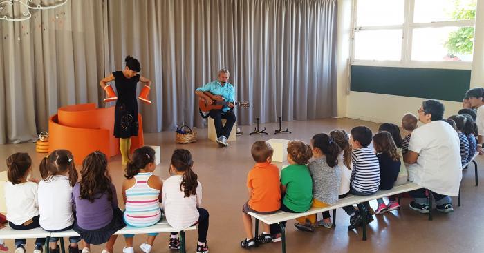 Mintzalasai dans le temps scolaire : Spectacle pour les maternelles