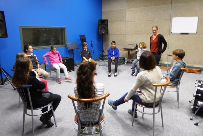 Journée d'intégration des 6ème de la Villa Fal : Découverte de la sofro musical