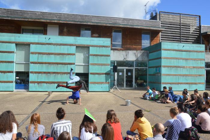 Rencontre inter-lycées autour de la danse